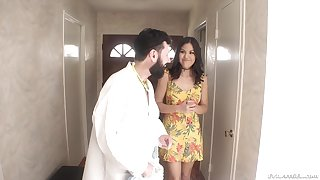 MILF slut Kendra Spade throat and ass fucked by her dentist