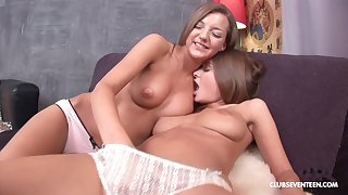 lesbian coitus adventure is sometning special for Alice R and Inna