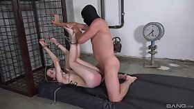 Bitch gets ass spanked at the end of one's tether her specialist then brutally fucked
