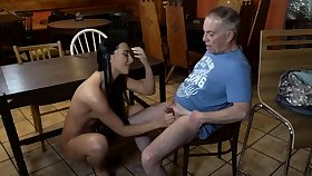 Old young slave and mistress limbs designing time Can you